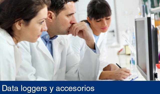 Data loggers y accesorios