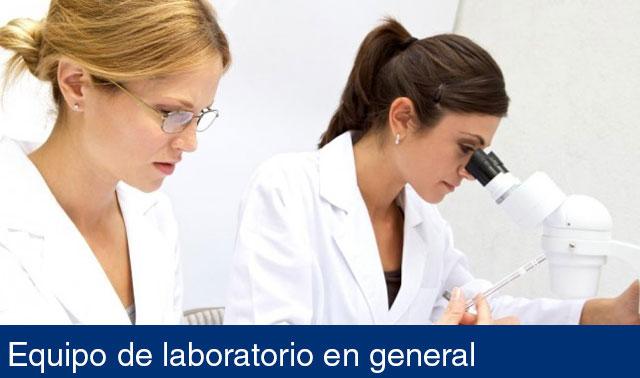 Equipo de laboratorio en general